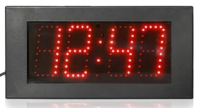 Steel IP65 LED 1 Timer Red 37