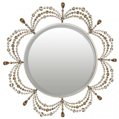 Crystal Scallop Mirror Cirkle