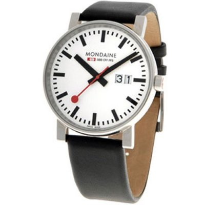 Mondaine EVO SBB Big Date Polished 40 mm
