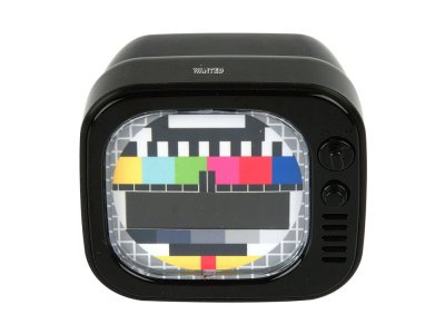 Present Time TV LED Alarm Black