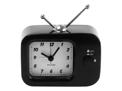 Present Time Retro TV Metal Black