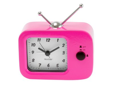 Present Time Retro TV Metal Pink