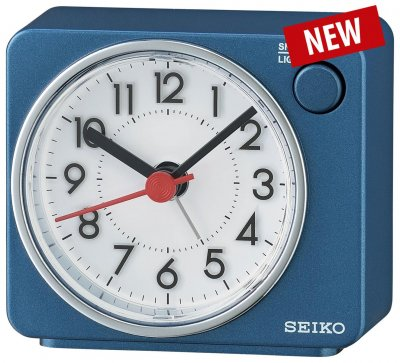 Seiko Flash LED Sweep Snooze Light Blue