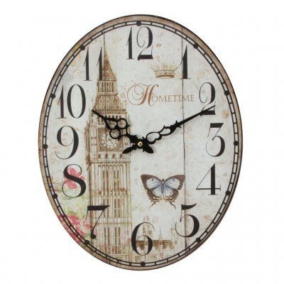 Oval Metal Big Ben
