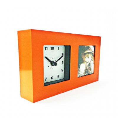 Photo Frame Single Orange