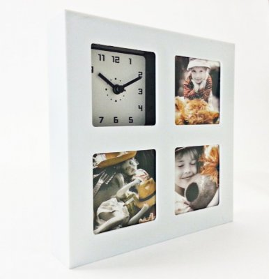 Photo Frame Square White
