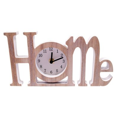 Wood Home Clock