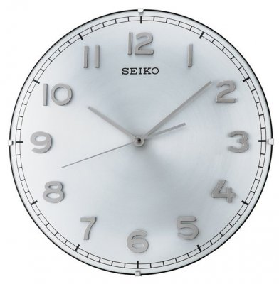 Seiko Dome Sweep Silver Numbers Alu 30