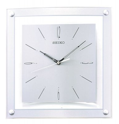 Seiko Square Bezel Sweep Silver 32