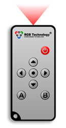 IR Remote for Digital RGB Clocks