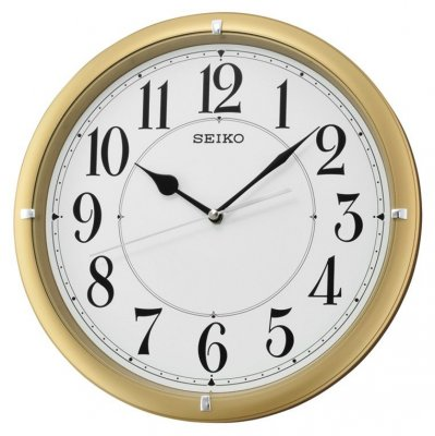Wall Clock Seiko Classic Sweep Gold 31 Wall Clocks At