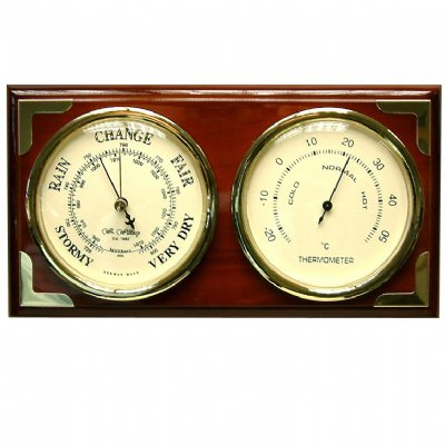Combo Barometer Thermometer