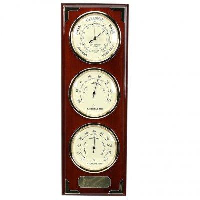 Barometer Wm. Widdop Triple Baro Thermo Hygro, Barometer