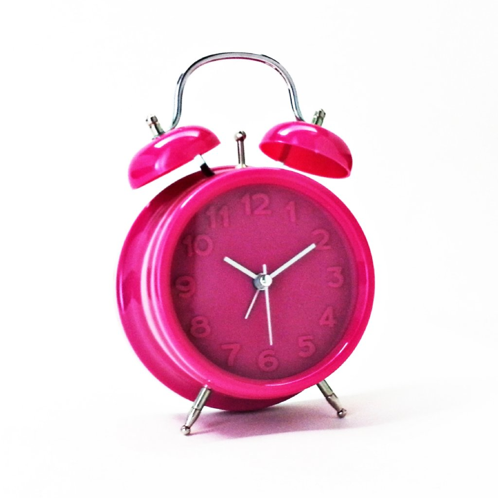 alarm clock bright retro alarm pink alarm clocks priisma. Black Bedroom Furniture Sets. Home Design Ideas