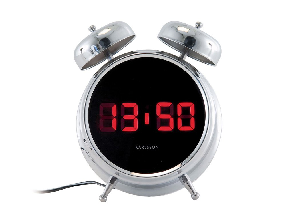 Alarm Clock Karlsson Digibell Alarm Clocks