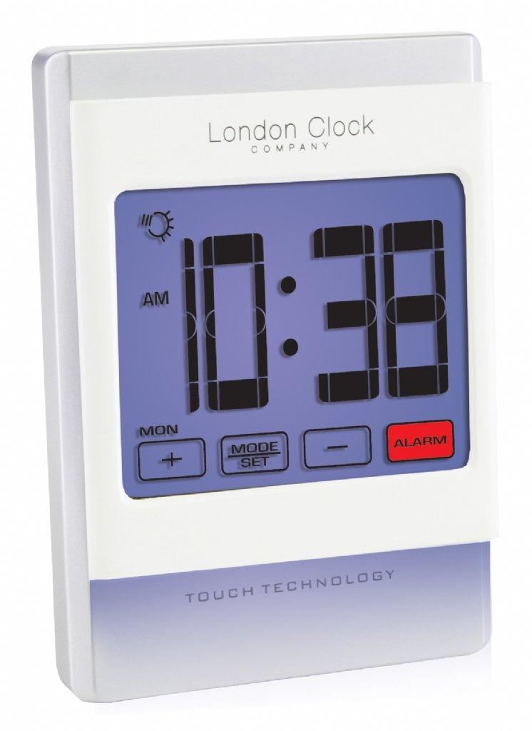 Alarm Clock London Clock Company Calendar Touchscreen