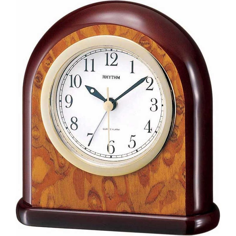 Alarm Clock Rhythm Elegant Wood Alarm Alarm Clocks
