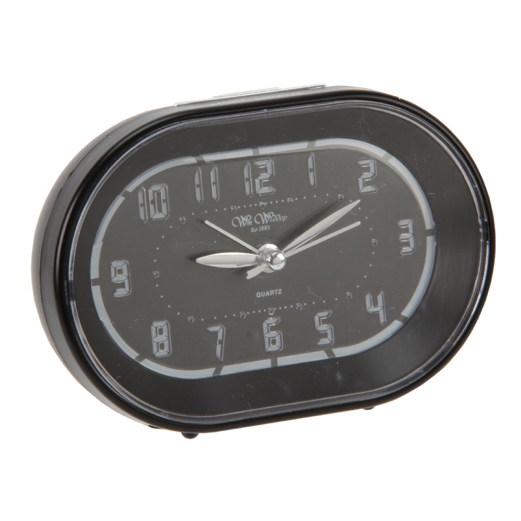 Alarm Clock Wm Widdop Modern Sweep Led Snooze Modern