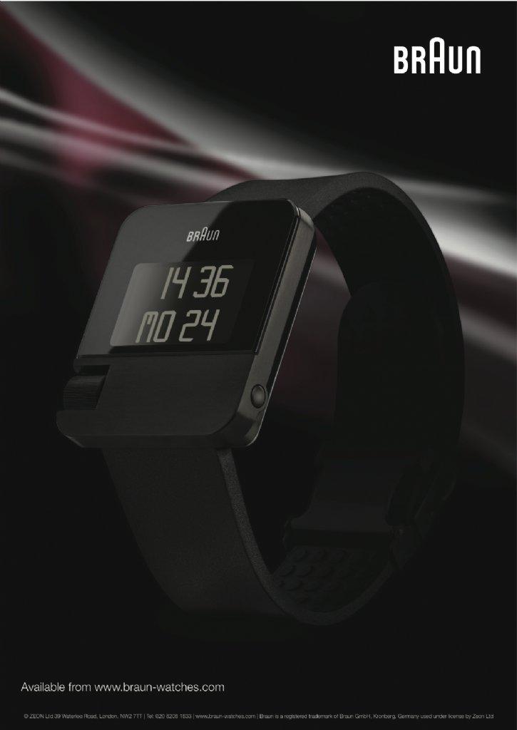 Watch Braun Prestige Digital Black At Priisma Watches