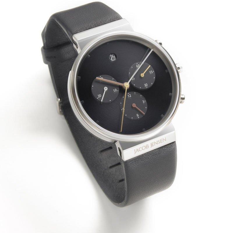 Watch Jacob Jensen Chrono 603 Titanium Sapphire 37mm At