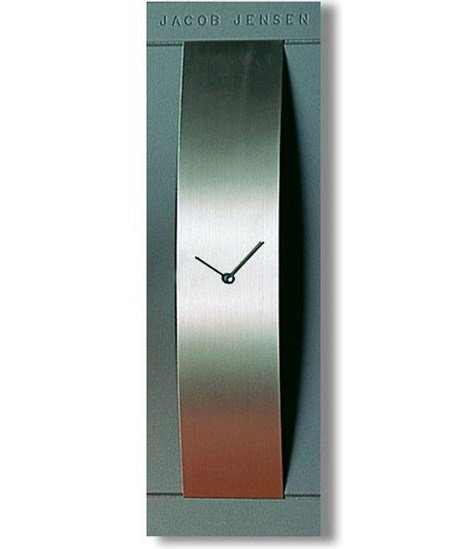 wall clock jacob jensen vertical grey 312 priisma. Black Bedroom Furniture Sets. Home Design Ideas