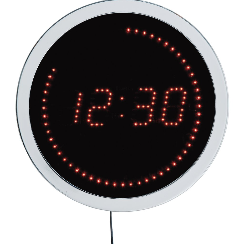 Wall clock kare led digital wall clocks priisma led digital amipublicfo Images