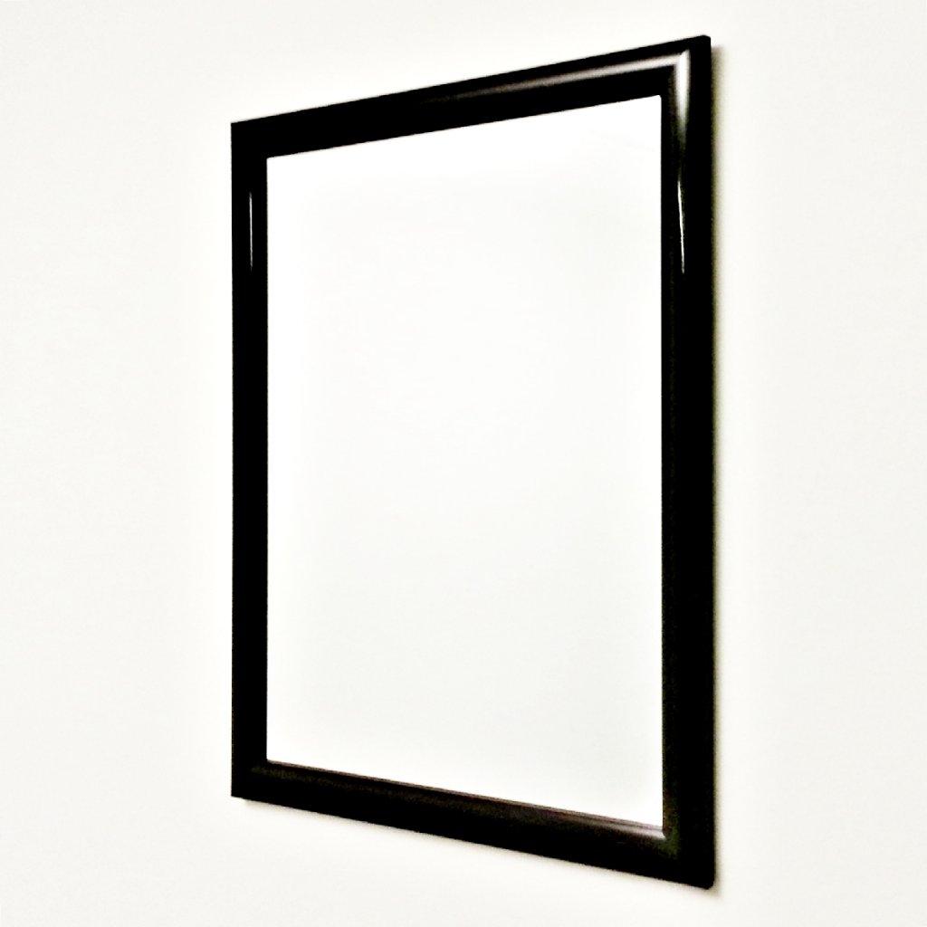 Mirror no brand classic black mirrors priisma for Classic mirror