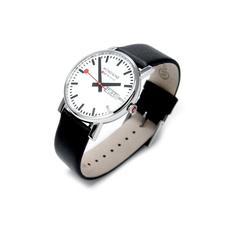 Watch Mondaine Evo Sbb D D Polished 38 Mm At Priisma Watches