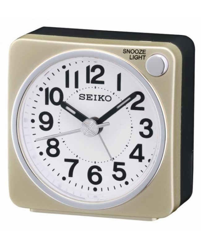 Alarm Clock Seiko First Sweep Light Lumi Gold Alarm Clocks