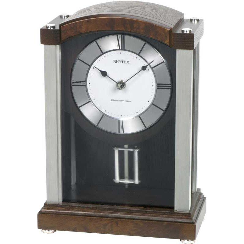 Table Clock Rhythm Motion Desk Clock Mantel Clock