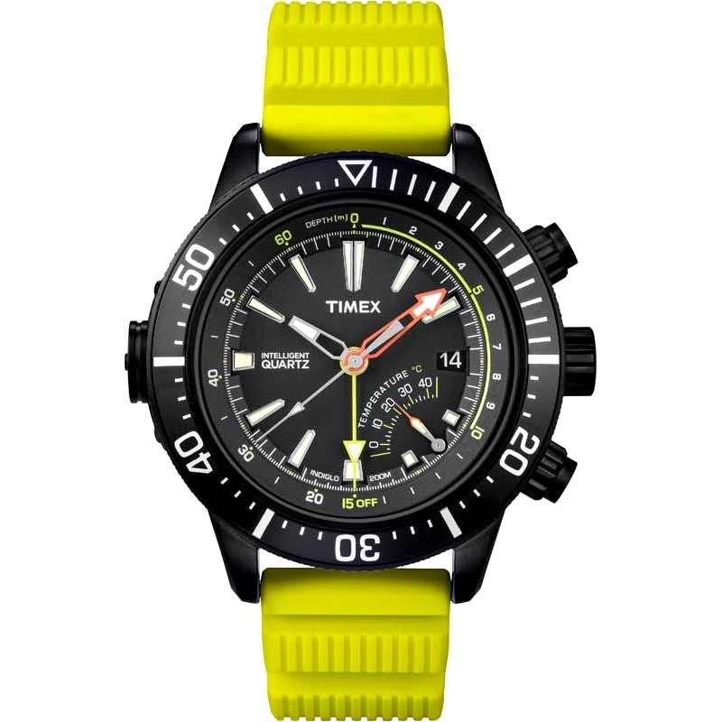 Watch Timex Intelligent Quartz Depth Gauge Thermo Bright