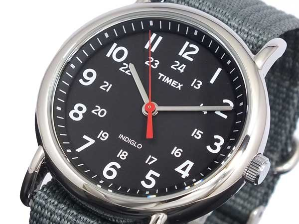 Watch Timex Weekender Black Grey 38mm At Priisma Watches