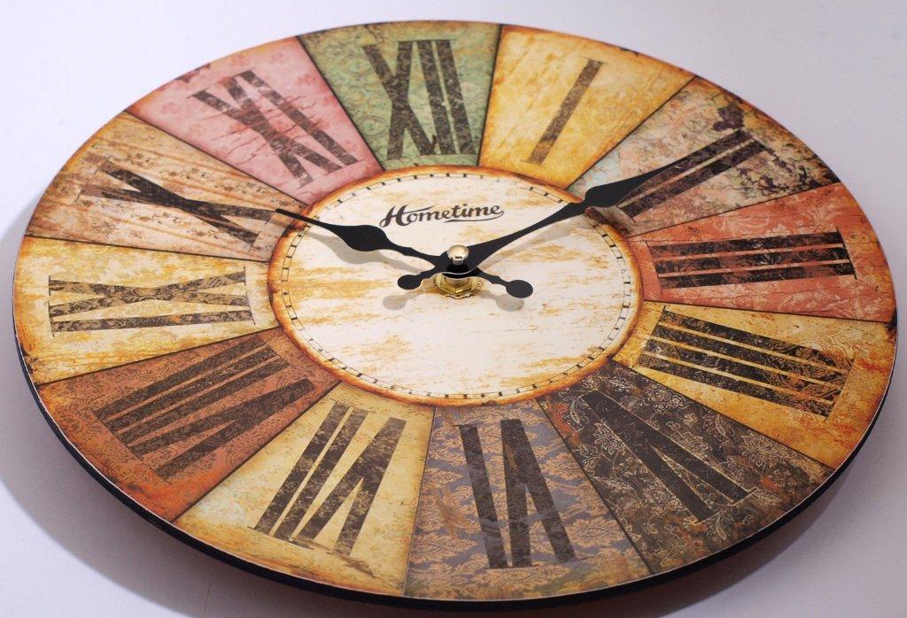 Hometime Roman Multi Colour Wall Clocks Priisma