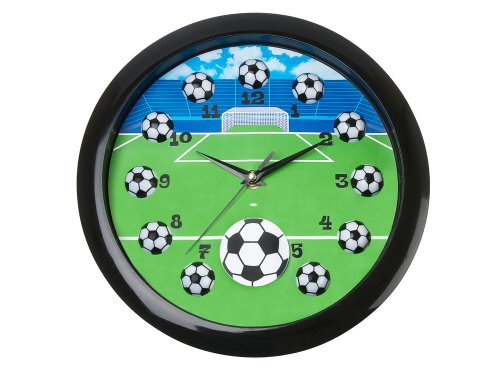 Clock Silly Gifts Football Sweeping 3d Wall Clock Priisma