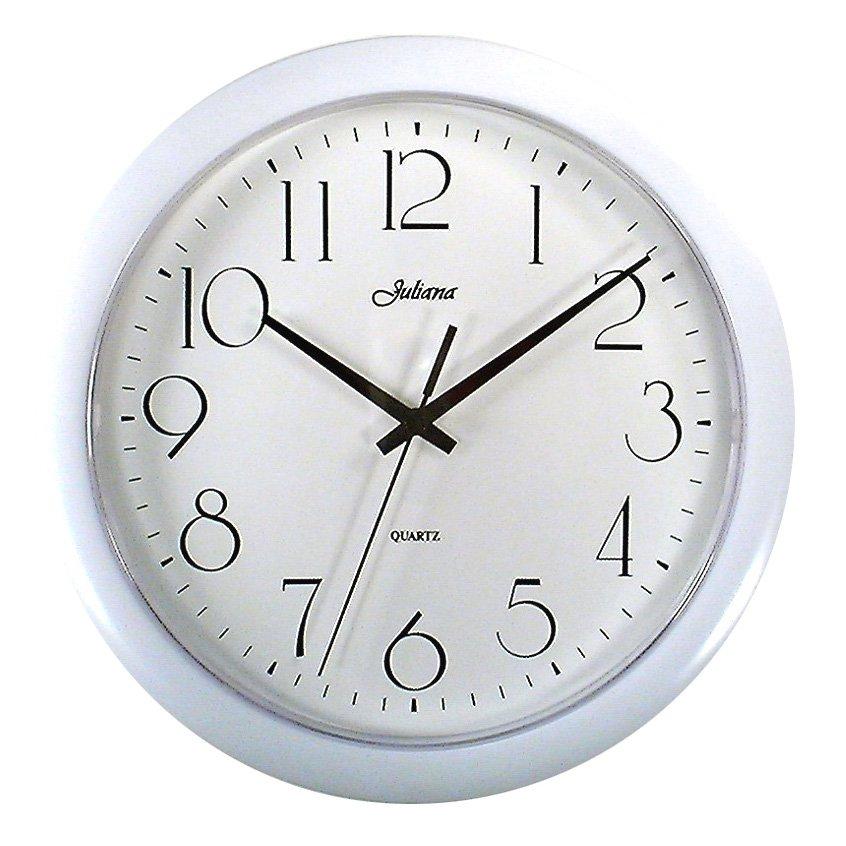 Wm. Widdop/Juliana Classic Quartz White , Wall Clocks ...