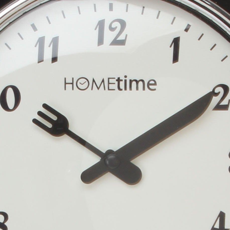 Hometime Ant Kitchen Timer Black Wall Clocks Priisma