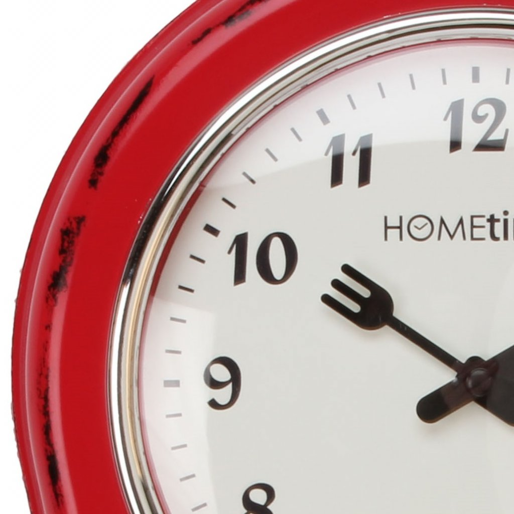 HOMEtime Ant Kitchen Timer Shabby Red , Wall Clocks – priisma