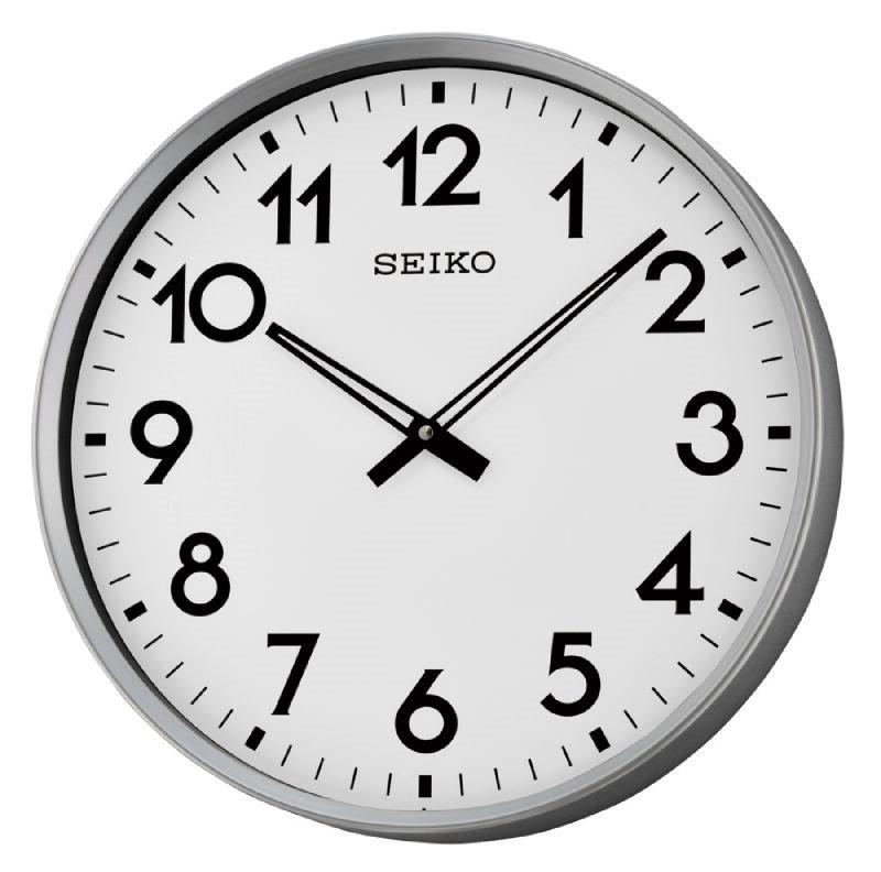 Wall Clock Seiko Big Numbers Wall Clocks At Priisma