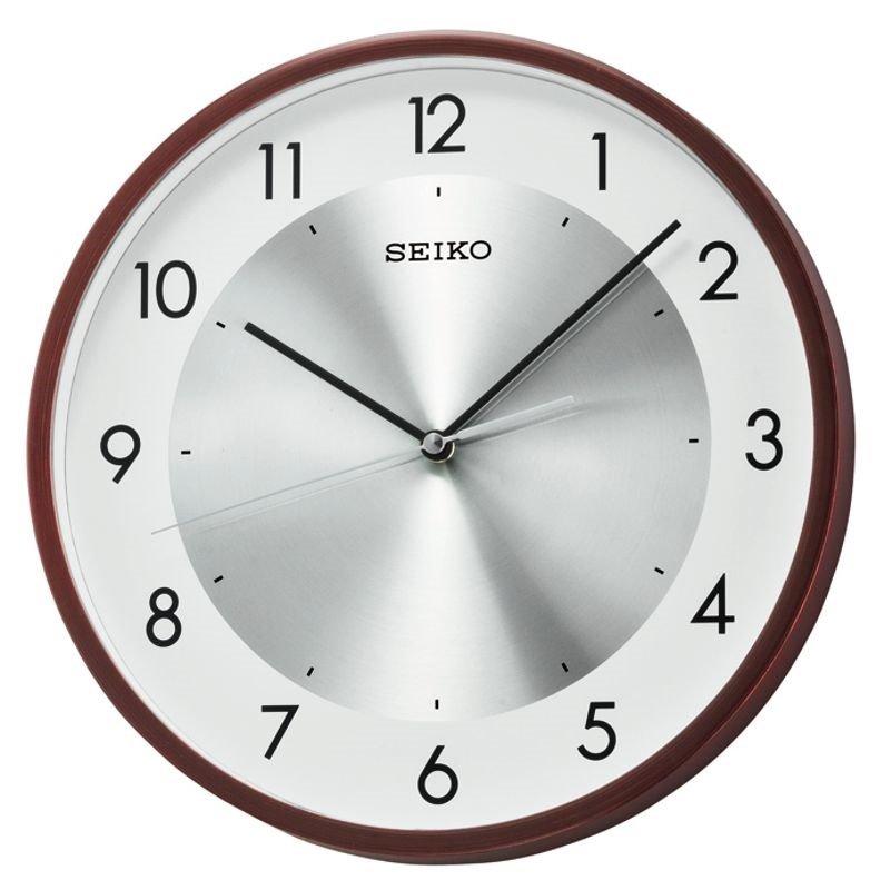 Wall Clock Seiko Modern Sweep White Wall Clocks At Priisma