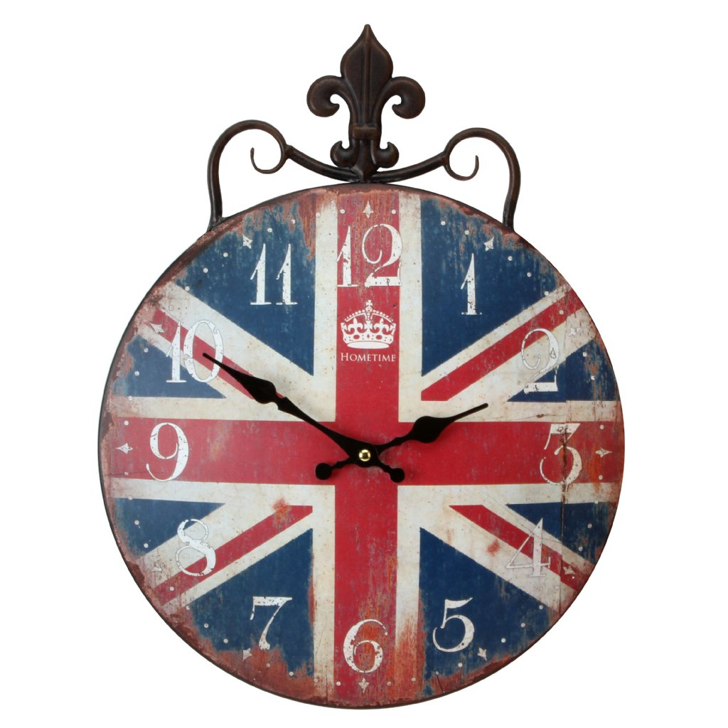 Union jack wall clock choice image home wall decoration ideas union jack wall clock amipublicfo Images