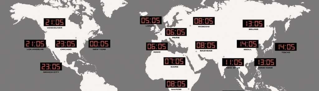 Wall Clock Karlsson Led Worldwide Wall Clocks Priisma