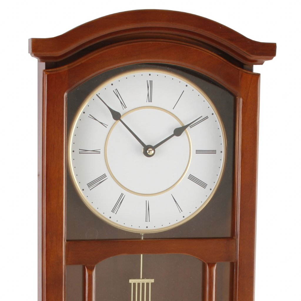 Wm Widdop Roman Golden Pendulum Wall Clocks Priisma
