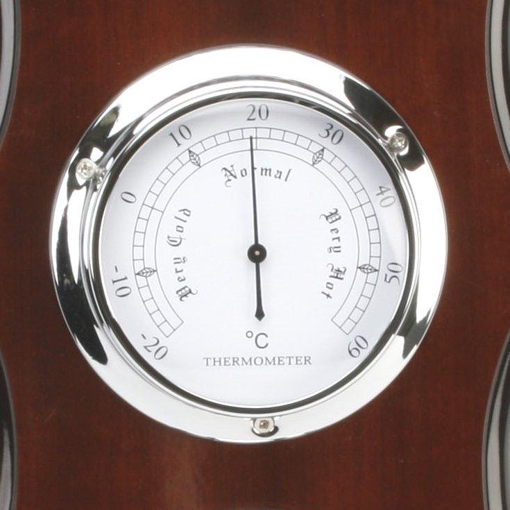 Barometer Wm. Widdop Triple Scallop Baro Thermo Hygro