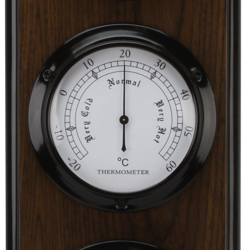 Barometer Wm. Widdop Triple Two Tone Baro Thermo Hygro